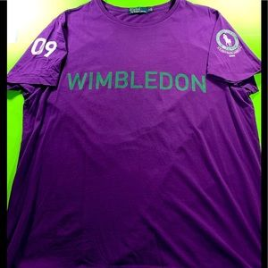 POLO RL Women's Wimbledon 09 XL Purple Shirt